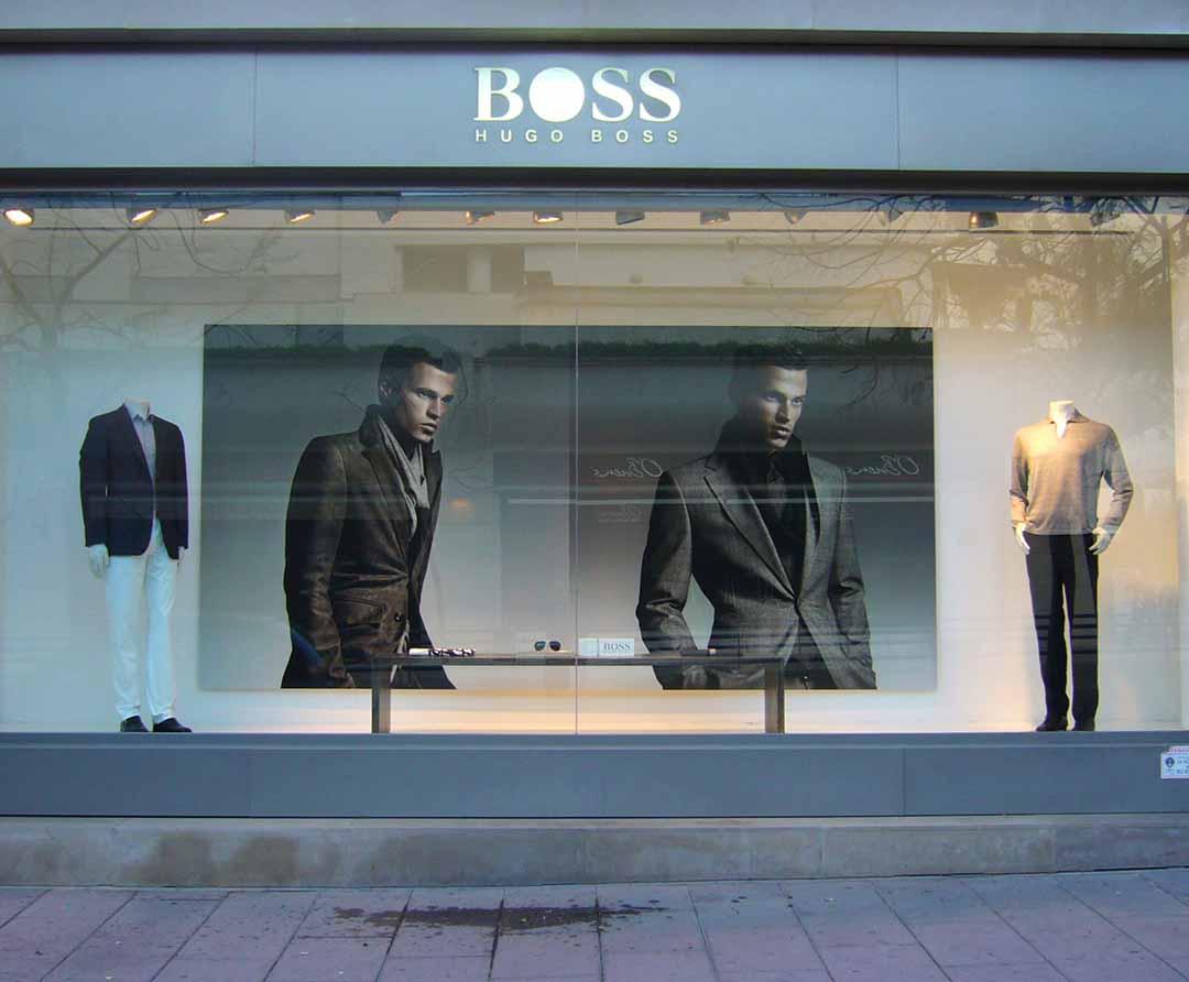 Window Display_Hugo Boss